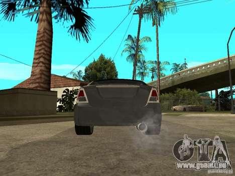 Ford Fusion 2008 Dub pour GTA San Andreas sur la vue arrière gauche