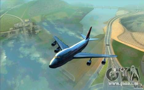 B-747 American Airlines Skin pour GTA San Andreas
