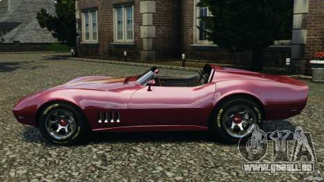 Chevrolet Corvette Sting Ray 1970 Custom für GTA 4 linke Ansicht