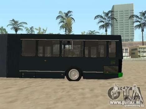 Trailer für Liaz 6212 für GTA San Andreas Rückansicht