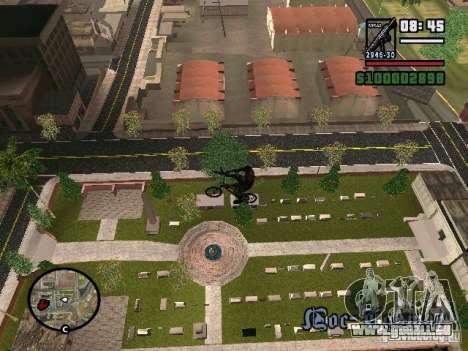 Fliegende Fahrräder für GTA San Andreas zweiten Screenshot