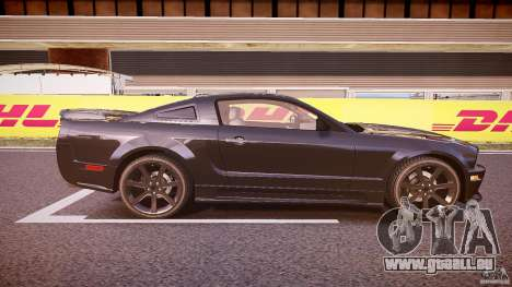 Saleen S281 Extreme Unmarked Police Car - v1.1 für GTA 4 Seitenansicht