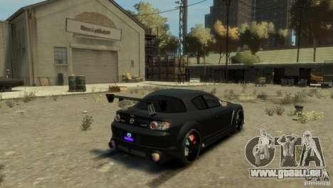 MAZDA RX8 pour GTA 4 est une gauche