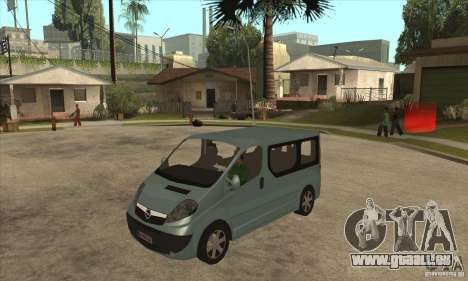 Opel Vivaro für GTA San Andreas