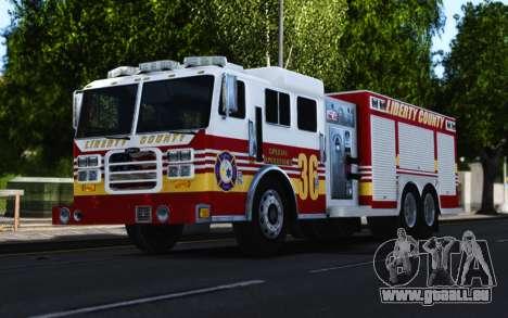 Pierce Heavy Rescue Pumper V1.4 pour GTA 4