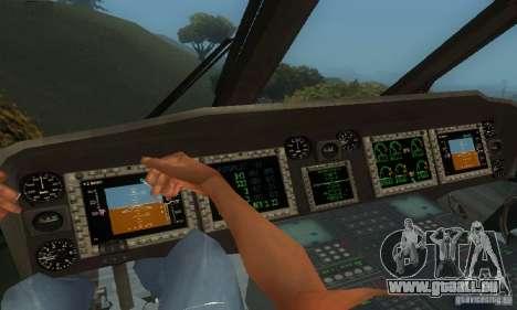 UH-60M Black Hawk pour GTA San Andreas vue de côté