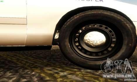 Ford Crown Victoria New Jersey Police für GTA San Andreas rechten Ansicht