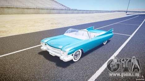 Cadillac Eldorado 1959 interior white für GTA 4 linke Ansicht