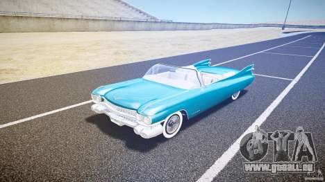 Cadillac Eldorado 1959 interior white pour GTA 4 est une gauche