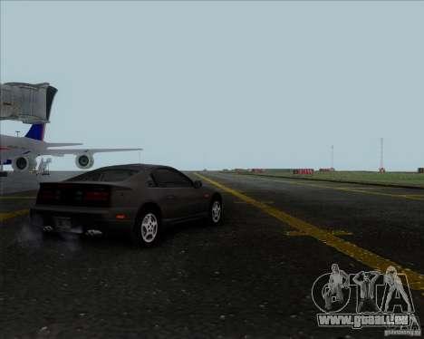 Nissan 300ZX für GTA San Andreas zurück linke Ansicht