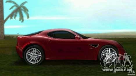 Alfa Romeo 8C für GTA Vice City linke Ansicht