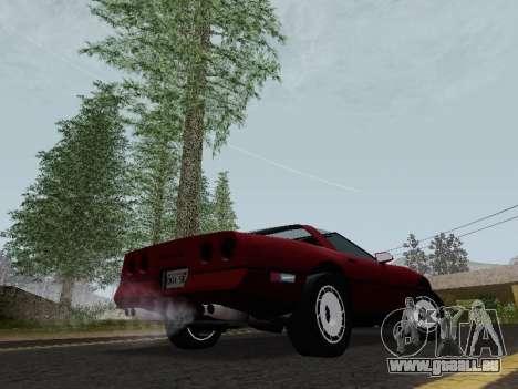 Chevrolet Corvette C4 1984 pour GTA San Andreas vue de droite