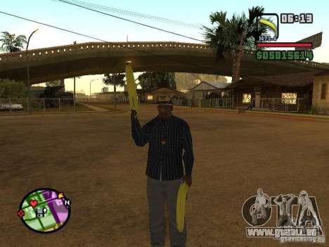 Bunana Gun pour GTA San Andreas troisième écran
