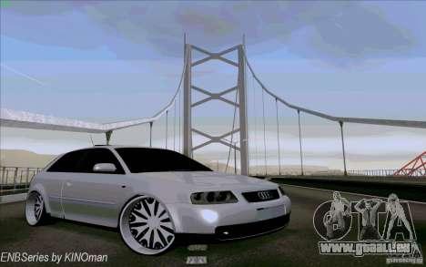 Audi A3 DUB Edition pour GTA San Andreas vue de côté