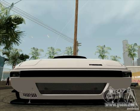 Mazda RX-7 FB Race für GTA San Andreas Innenansicht