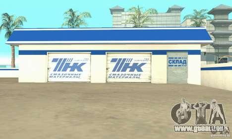 Station de remplissage TNK pour GTA San Andreas troisième écran