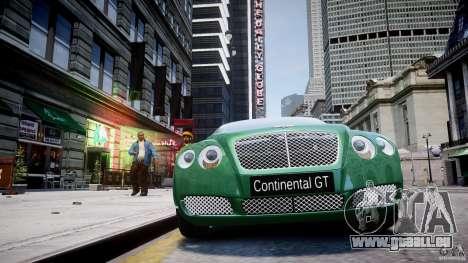 Bentley Continental GT für GTA 4 Innen