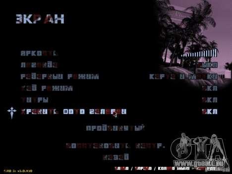 Texte sanglante pour GTA San Andreas troisième écran