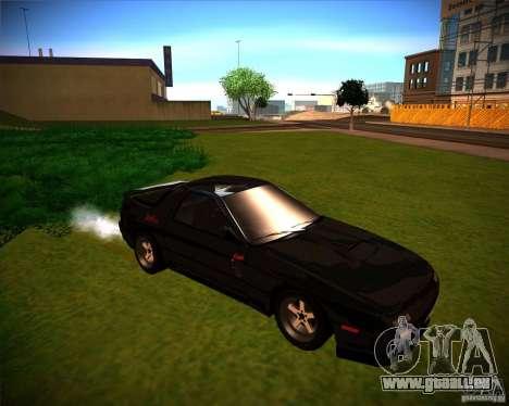 Mazda RX-7 FC3S pour GTA San Andreas laissé vue