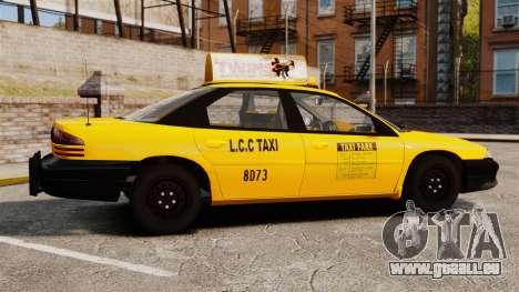Dodge Intrepid 1993 Taxi pour GTA 4 est une gauche