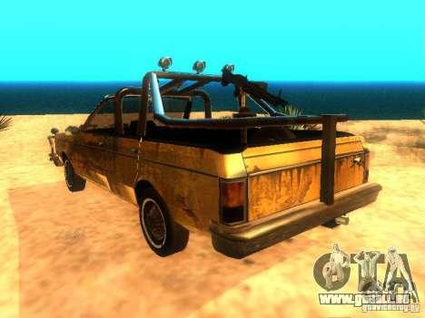 Regina War pour GTA San Andreas laissé vue