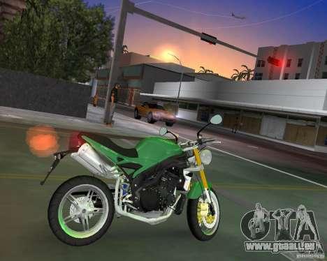 Triumph Speed Triple pour une vue GTA Vice City de la gauche