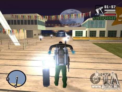 Night moto track V.2 pour GTA San Andreas sixième écran