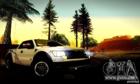 Ford F-150 SVT Raptor V1.0 pour GTA San Andreas vue de droite