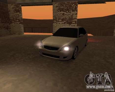Lada Priora berline avec hayon arrière pour GTA San Andreas