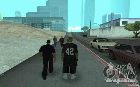 Nouveaux skins Los Santos Vagos pour GTA San Andreas deuxième écran
