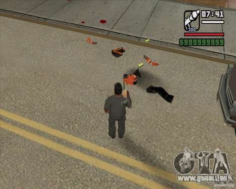 Real Ragdoll Mod Update 2011.09.15 pour GTA San Andreas