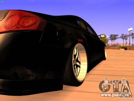 Infiniti G35 V.I.P pour GTA San Andreas vue de droite