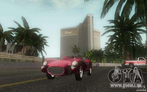 Ferrari 250 Testa Rossa für GTA San Andreas Seitenansicht