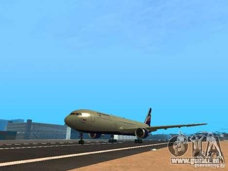 Boeing 767-300 Aeroflot pour GTA San Andreas