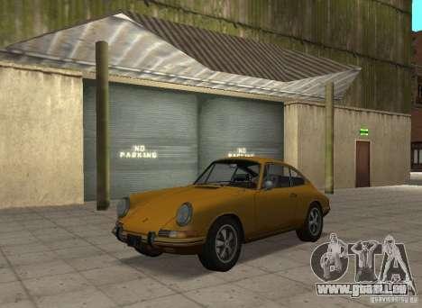 Porsche 911 S pour GTA San Andreas sur la vue arrière gauche