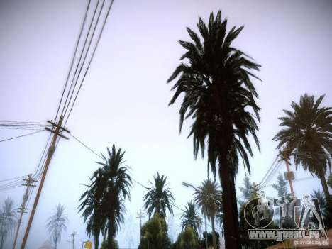 New trees HD für GTA San Andreas dritten Screenshot
