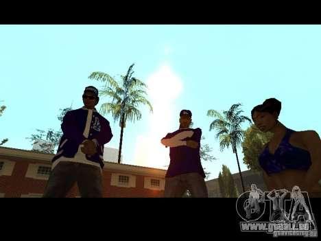 Piru Street Crips pour GTA San Andreas neuvième écran