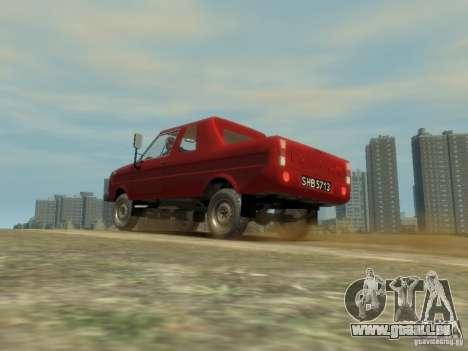 FSR Tarpan 237D pour GTA 4 est une vue de l'intérieur