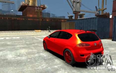 Seat Leon Cupra Light Tuning für GTA 4 hinten links Ansicht