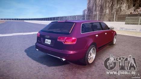 Audi A6 Allroad Quattro 2007 wheel 1 pour GTA 4 est une vue de dessous