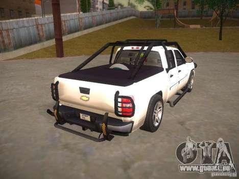 Chevrolet Silverado pour GTA San Andreas sur la vue arrière gauche