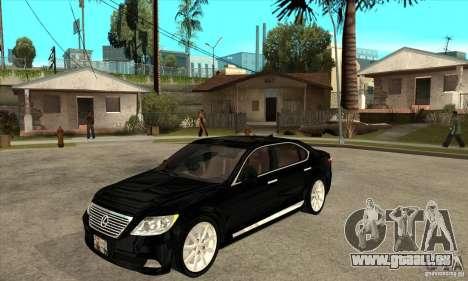 Lexus LS460L 2010 für GTA San Andreas