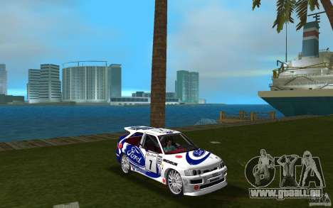 Ford Escort Cosworth RS für GTA Vice City Rückansicht