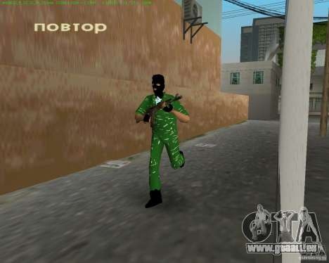AK-74 für GTA Vice City Screenshot her