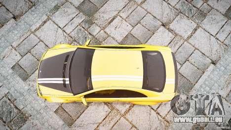 Mercedes Benz CLK63 AMG Black Series 2007 pour GTA 4 est un droit
