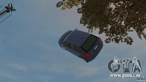 Audi S3 2006 v1.1 n'est pas tonirovanaâ pour GTA 4 vue de dessus