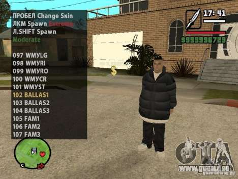 GTA IV peds to SA pack 100 peds für GTA San Andreas