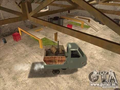 Ape Piaggio pour GTA San Andreas vue de droite