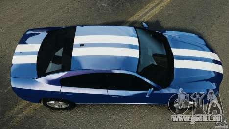 Dodge Charger Unmarked Police 2012 [ELS] für GTA 4 rechte Ansicht