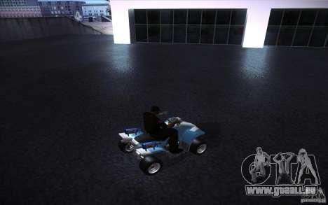 Quad Bike Custom für GTA San Andreas rechten Ansicht